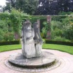 Розовый сад Остина